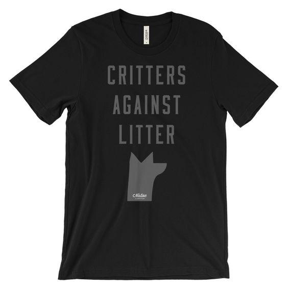Critters Against Litter Tee