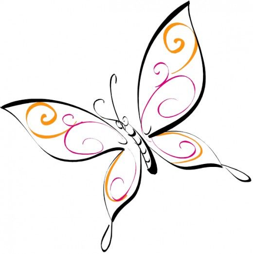 Butterfly Drawing: