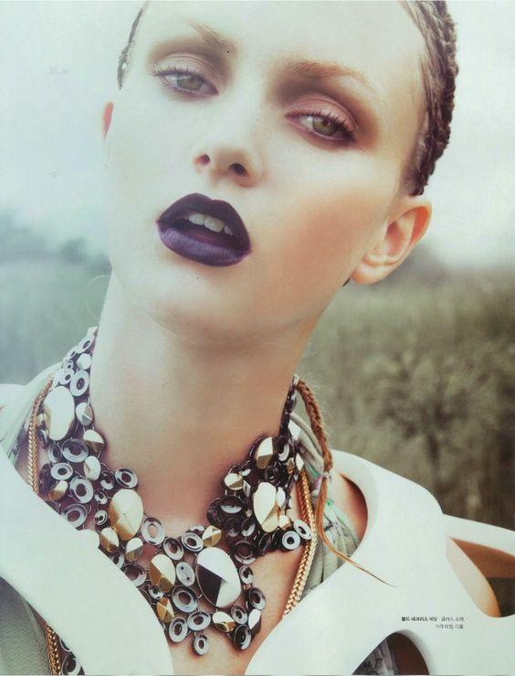 nice dark lipstick