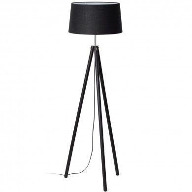 lampe tr pied bois dix lampe sur pied en bois lampe