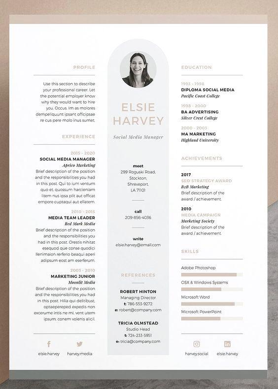 Epingle Sur Resume Tips References