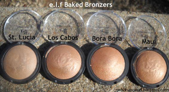 elf Baked Bronzers