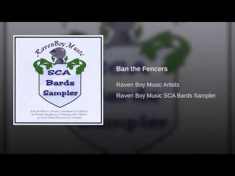 Ban The Fencers Youtube The Fencer Boy Music Bard