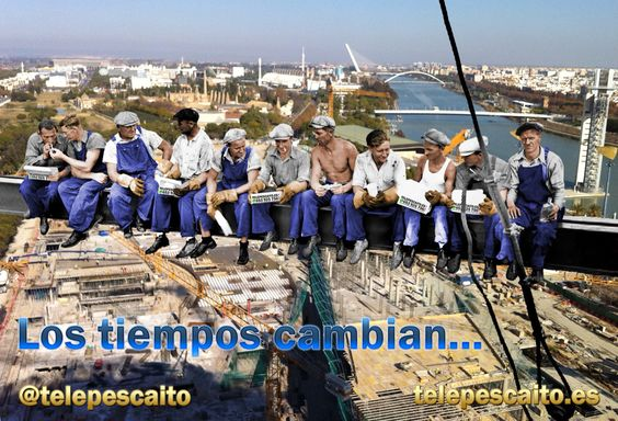 Los tiempos cambian.. http://www.telepescaito.es #Sevilla #Pescaitofrito a domicilio