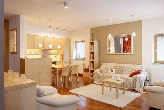 Кухня, совмещенная с гостиной, является малофункциональным решением — миф