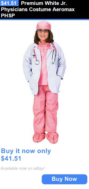 Halloween Costumes Kids: Premium White Jr. Physicians Costume Aeromax Phsp BUY IT NOW ONLY: $41.51