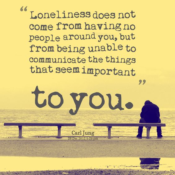 Loneliness Bible Quotes