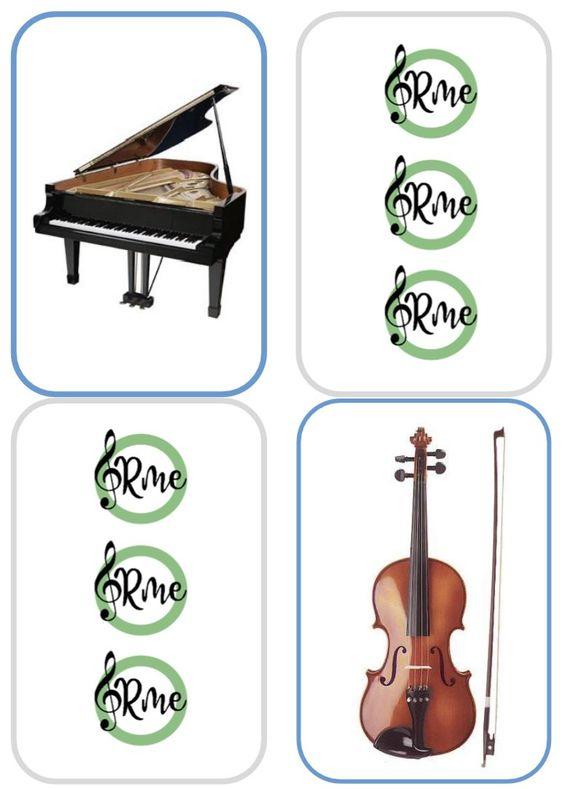 Memory Instrumentos Orquesta Orquesta Instrumentos Orquesta Instrumentos