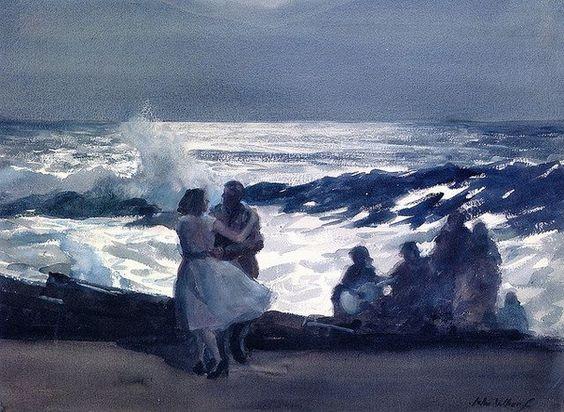 John Whorf - Fisherman's Dance, Summer Night