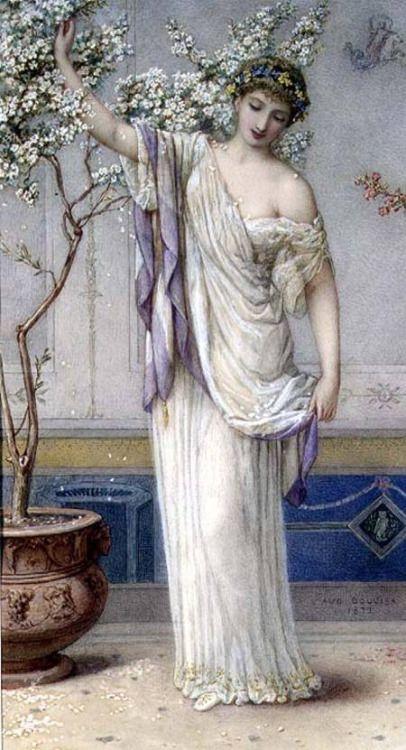 Flora - Augustus Jules Bouvier