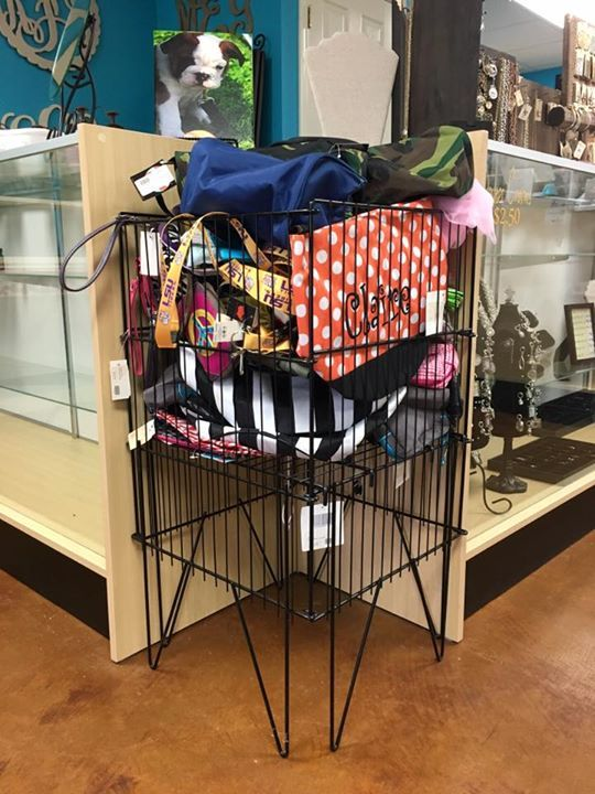 !!!50% OFF!!! Everything in this basket is half off! Everything from bags scarfs lsu gear and much more! Come check it out!