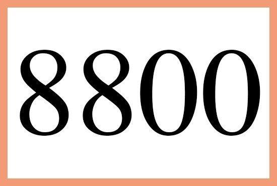 8800のエンジェルナンバーの意味は 天の恵み です More Than Ever エンジェル ナンバー エンジェル 数字
