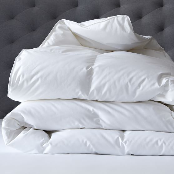 West Elm Down Alternative Duvet Cover Insert King White