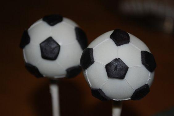 Cake Pops Bola de Futebol