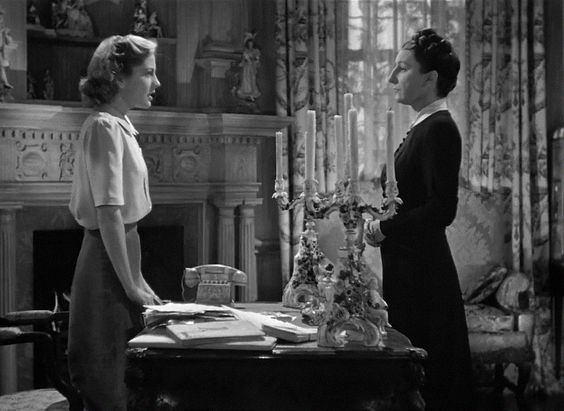 Rebecca (1940) , Alfred Hitchcock, , Joan Fontaine: