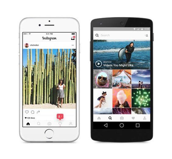 Instagram muda design e altera visual de Layout http://angorussia.com/sem-categoria/instagram-muda-design-altera-visual-layout/