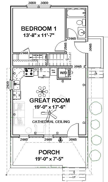 Shotguns Floor Plans And House Plans On Pinterest