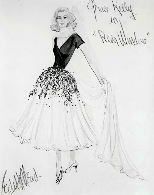 The incredible talent of costume designer Edith Head.