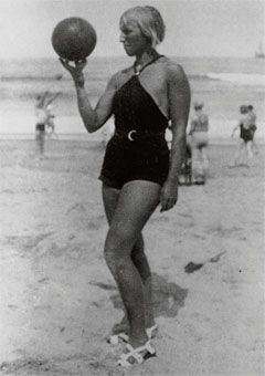 Marie-Thérèse, summer 1929, photograph by Picasso.