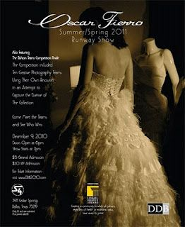 Oscar Fierro's Damas de Blanco Runway Event!