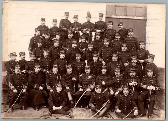 De Jongh Neuilly, officiers du 22e régiment d'artillerie, Versailles    #Les_années_1900_à_1940_ #Actualités