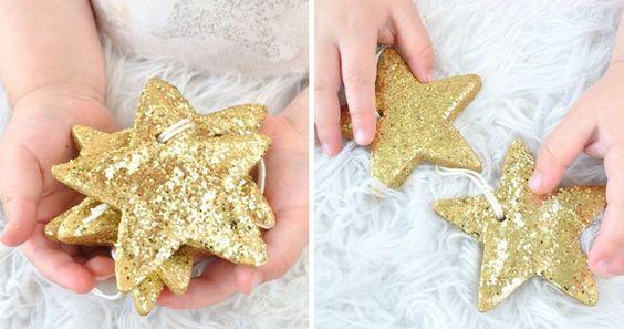 Salzteig Weihnachten Dekoration Ideen und Anleitungen