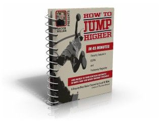 Check how to improve your vertical jump and collect your free report on how to jump higher in 45 minutes!