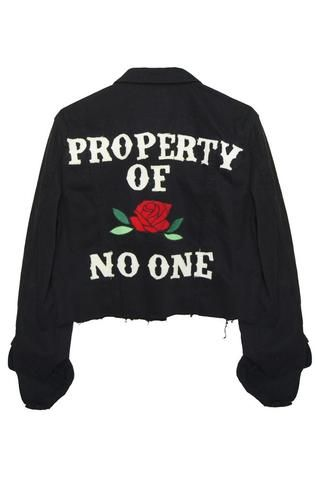 Property of No One Jacket: