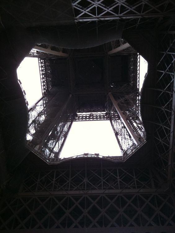 I aways wondered what the inside of the Eifel tower looks like?