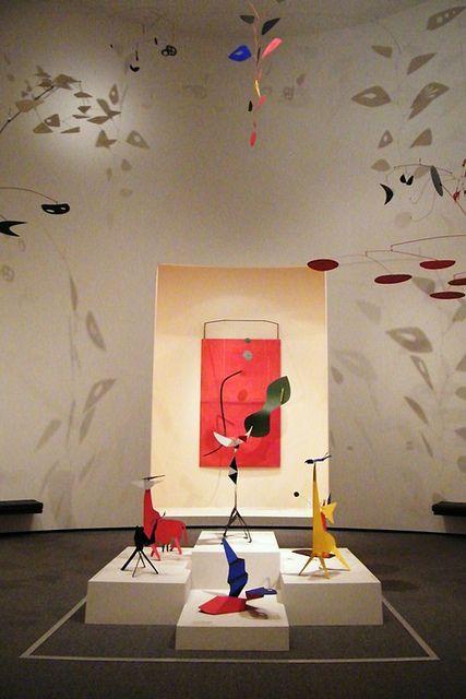 Calder Room, National Gallery of Art, Washington, D.C. by sarahstierch, via Flickr