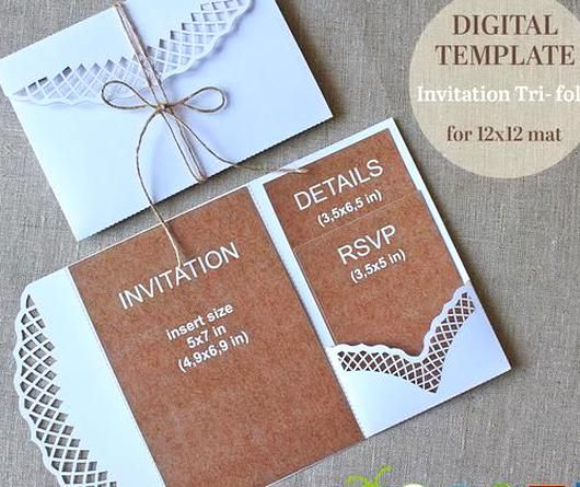 Pin By Beatrice Ashly On My Beautiful Collections Tri Fold Wedding Invitations Wedding Invitation Templates Pocket Wedding Invitations