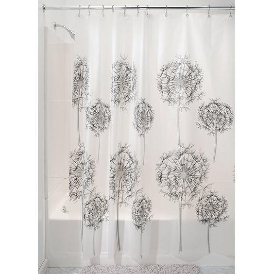 Amazon.com - InterDesign Allium 72-Inch by 72-Inch Shower Curtain ...
