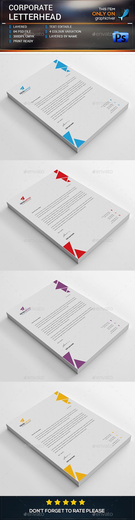 Corporate Letterhead                                                       …