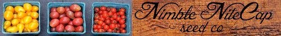 Nimble NiteCap Seed Co. by nimblenitecap on Etsy louisville KY seed company... organic & non-gmo!