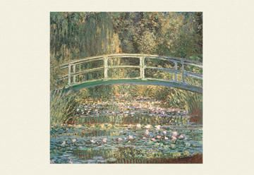 Waterlilies and Japanese Bridge  Series: Fine Art Artist: Claude Monet Period: Impressionism Source country: France Source Year: 1899  ambroseni.com