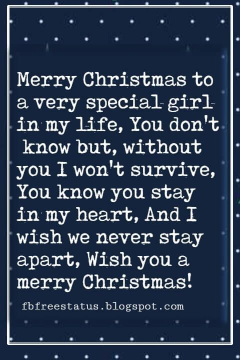Christmas Messages For Girlfriend Message For Girlfriend