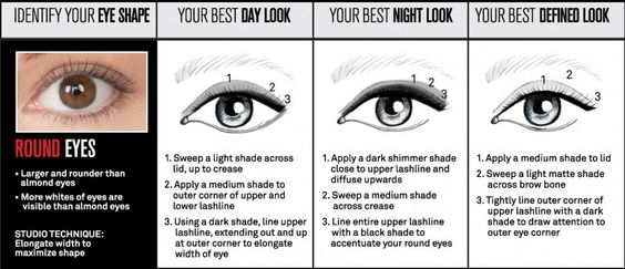 clio-round-eyes_How-to-apply-eye-shadow-for-your-eye-shape_Smashbox-Full-Exposure-Palette