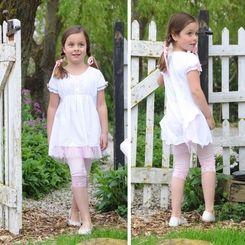 Pom Pom Laudy White Dress