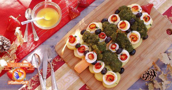 Albero di ortaggi Natalizio