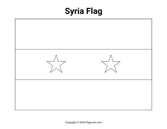 Free Printable Syria Flag Coloring Page Download It At Https Flaglane Com Coloring Page Syrian Flag Flag Coloring Pages Syria Flag Coloring Pages