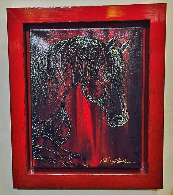 This piece just SOLD! Chance is one of the artist's you should be collecting he is HOT! Chance was just recently featured on episode of Living Big Sky on HGTV .