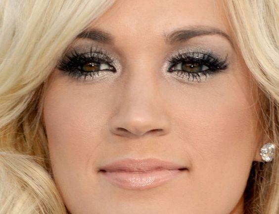 Make Up - Carrie Underwood: Beautiful Makeup, Pretty Eye, Dark Eyes, Eye Makeup, Dramatic Eyes, Dark Brown Eyes, Beautiful Eyes, Underwood Eye