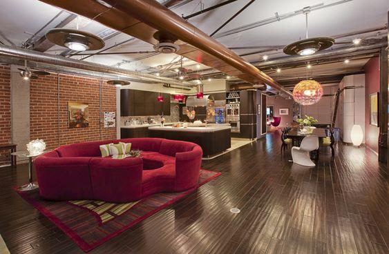Futuristisches Interieur Loft Wohnung. best 25+ loft house ideas ...
