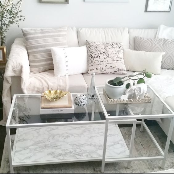 Ikea Marble Top Coffee Table: Ikea Hacks, Hacks And Coffee Tables On Pinterest