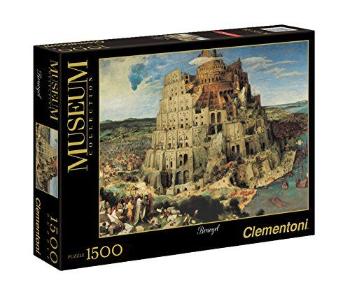 Clementoni 31985.5 Jigsaw Puzzle 1500 Pieces The Tower of Babel by Bruegel Clementoni http://www.amazon.co.uk/dp/B004HZYE7O/ref=cm_sw_r_pi_dp_XxHnwb1YR5SHM