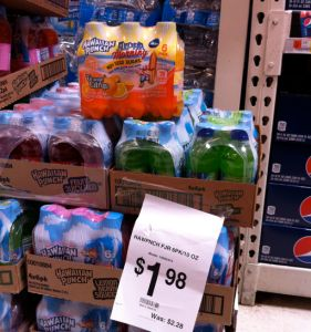 Hawaiian Punch 6 pk As Low As $0.98 At Walmart With Printable Coupon! - http://couponingforfreebies.com/hawaiian-punch-6-pk-as-low-as-0-98-at-walmart-with-printable-coupon/ Pinned 1/12/14