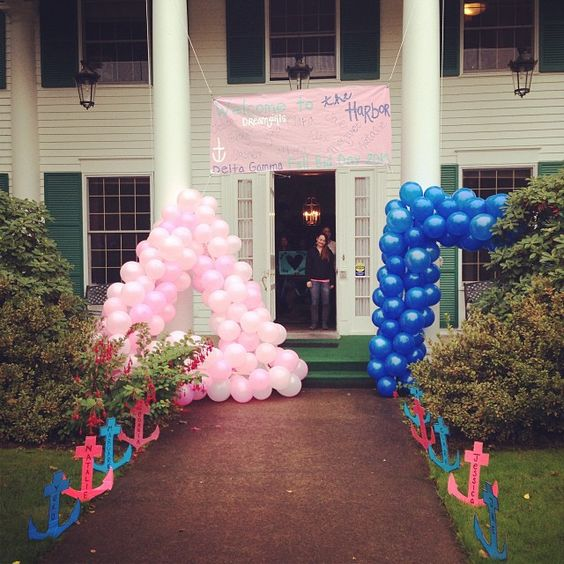 Fun bid day balloons!