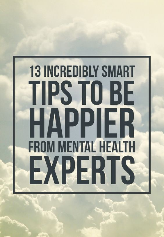 Genius tips from people whose job it is to make you feel better.