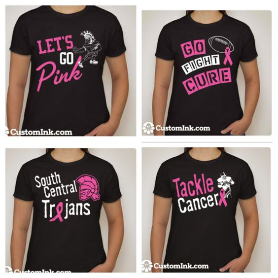 Breast cancer awareness design ideas for cheer 2013 for Breast cancer shirts ideas