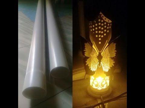 Cara Membuat Lampu Hias Bergambar Kupu2 Youtube Lampu Hiasan